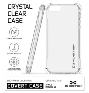 Etui Covert Apple iPhone SE różowy