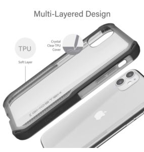 Etui Cloak 4 Apple iPhone 11 czarny