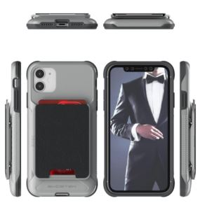 Etui Exec 4 Apple iPhone 11 szary