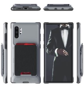 Etui Exec 4 Samsung Galaxy Note10 Plus szary