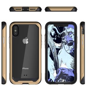 Etui Atomic Slim 2 Apple iPhone Xs złoty