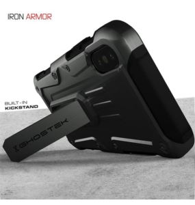 Etui Iron Armor Apple iPhone Xs niebieski