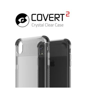 Etui Covert 2 Apple iPhone Xr czarny