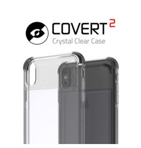 Etui Covert 2 Apple iPhone Xs Max różowy