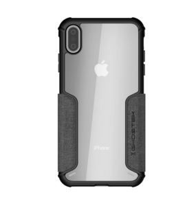 Etui Exec 3 Apple iPhone Xs Max szary
