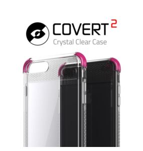 Etui Covert 2 Apple iPhone 7 8 Plus czarny