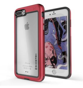 Etui Atomic Slim Apple iPhone 7 8 Plus czerwony
