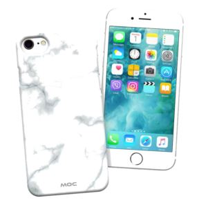 Etui telefonu MOC Mag Case do iPhone 7 8 Marble Wh